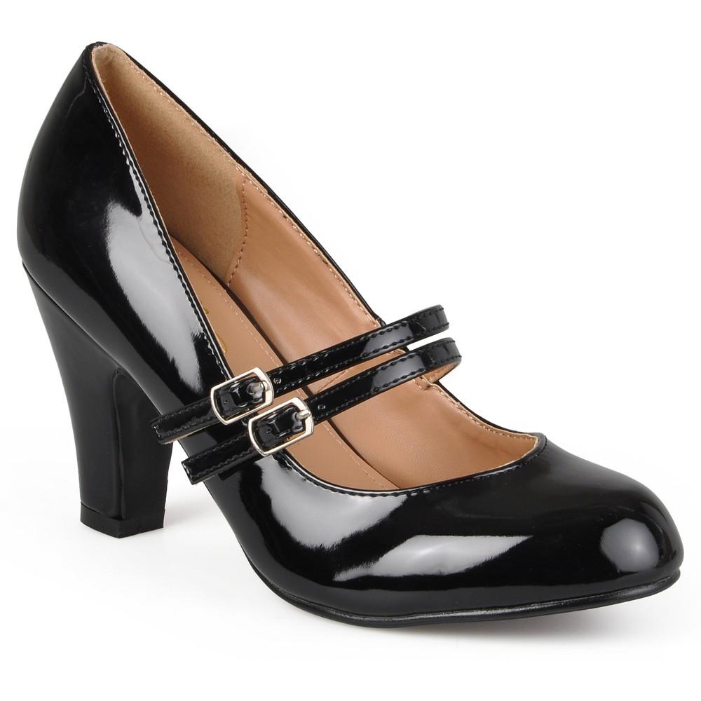 Womens Journee Collection Pumps -Black 6, Black