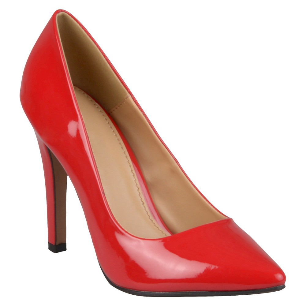Womens Journee Collection Pumps - Red 8