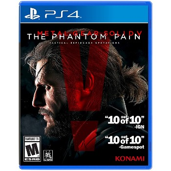 Metal Gear Solid V Game for PS4 / Xbox One