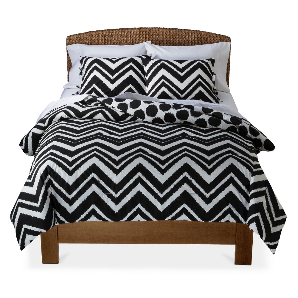 black for bedroom chic on and white with sale chevron your comforter fill ideas decoration comforters