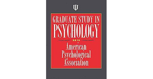 Graduate Study in Psychology 2015 (Paperback) - image 1 of 1
