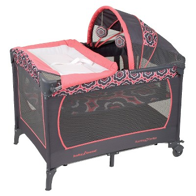 Baby Trend Serene Nursery Center - Coral Floral