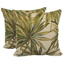 """Coastal Breeze Toss Throw Pillow 2 Pack (18""""x18"""") - Brentwood"""