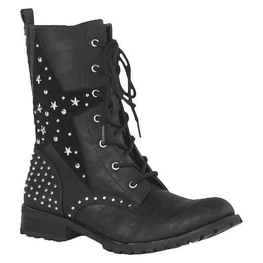 Women S Gia Mia Combat Dance Boots Black Target