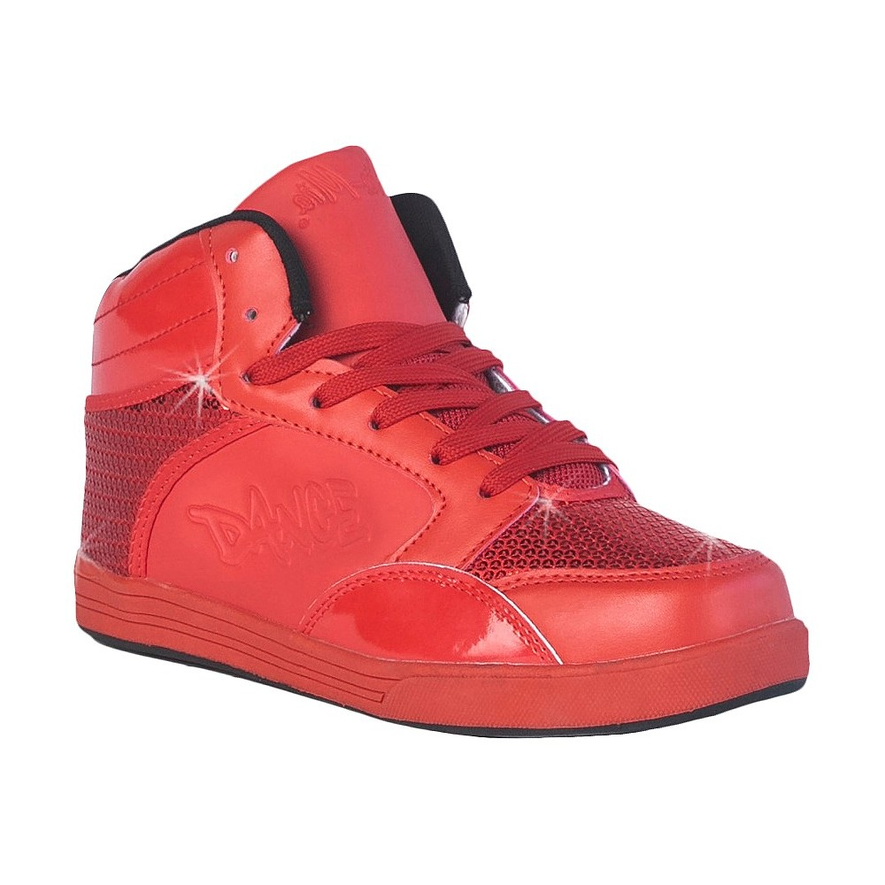 Womens Gia-Mia Dance Sneakers - Red 11