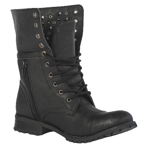 Women's Gia-Mia Combat Dance Boots - Black : Target