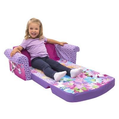 Marshmallow Childrens 2 in 1 Flip Open Foam Sofa Disney Frozen