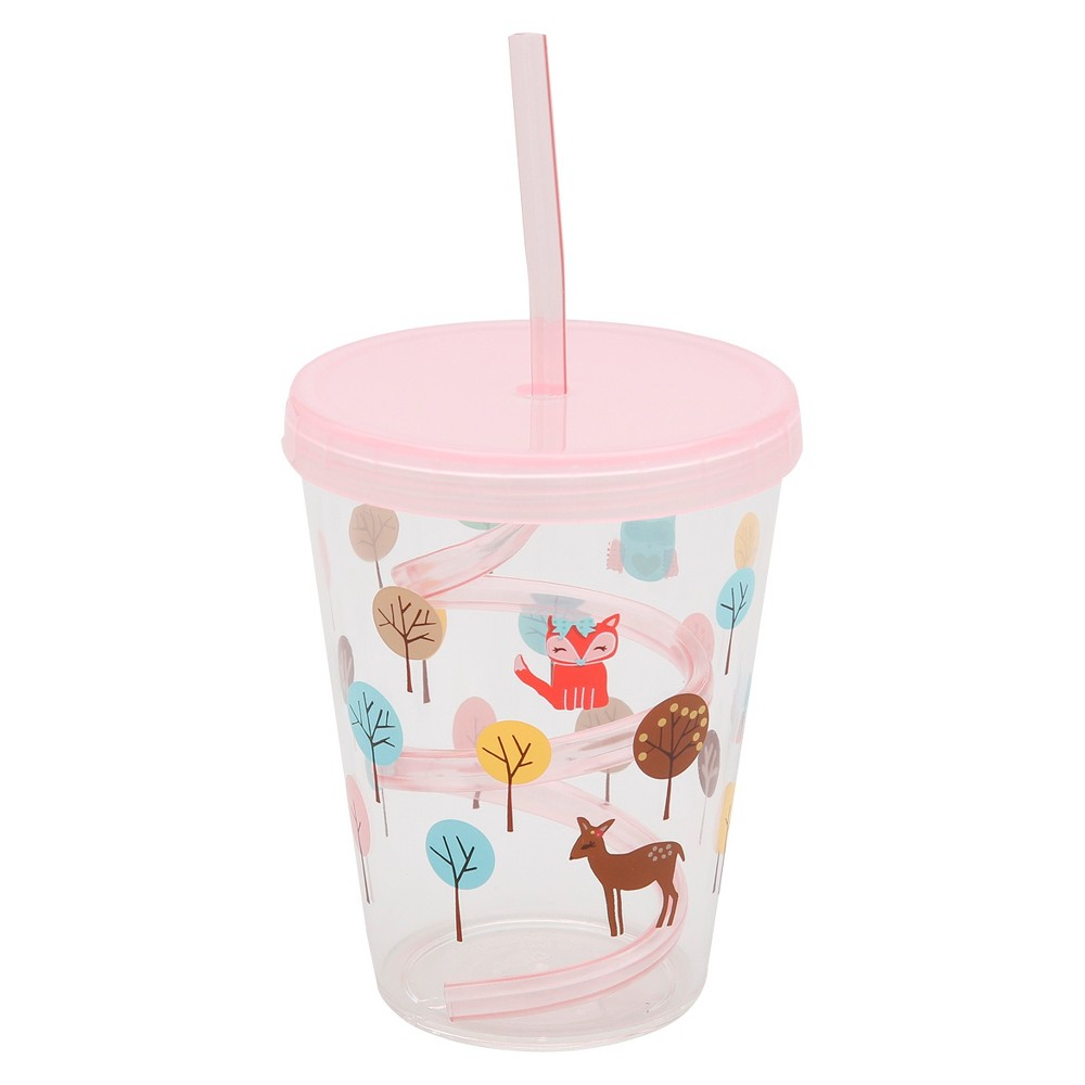 Set of 3 Peace Nature Straw Tumblers 15oz - Circo, Multicolor - Dnu