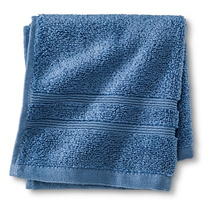 Luxury Wash Cloth Kettle Blue - Fieldcrest™