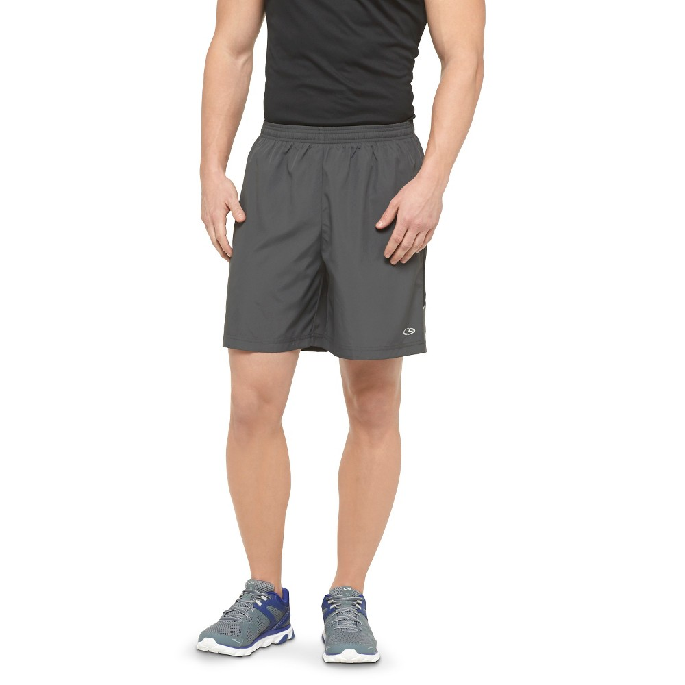 Mens 7 Running Shorts - C9 Champion Railroad Gray S