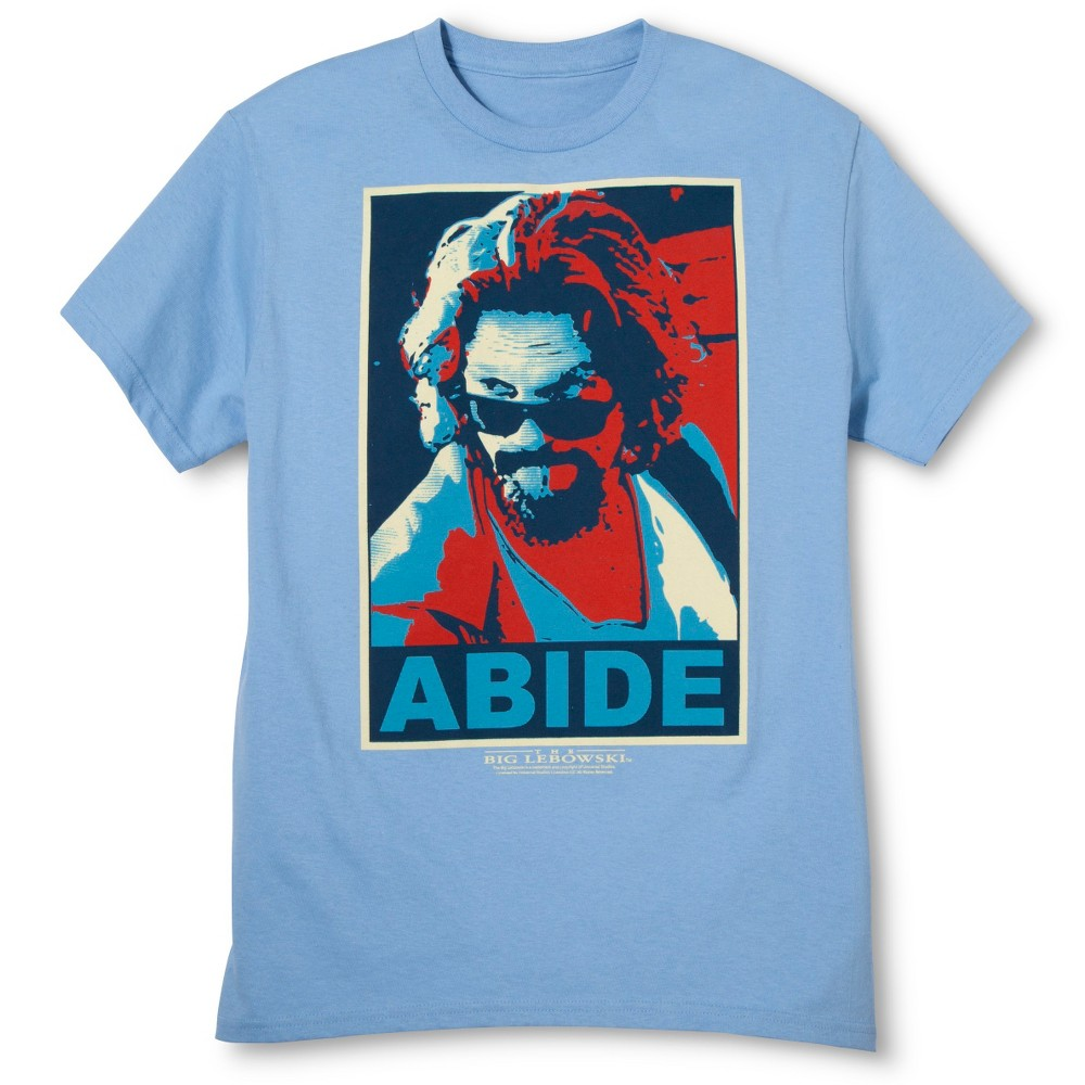 Mens Abide T-Shirt - Blue XL
