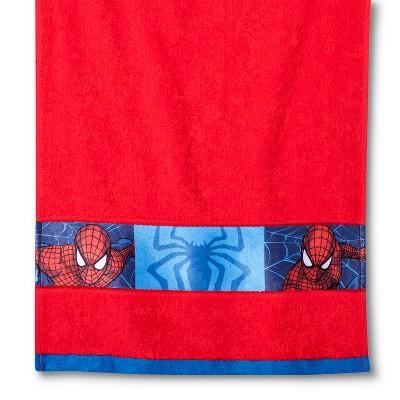 Spider Man 2 Pc Bath Towel Set   Red : Target