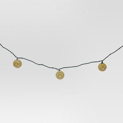 Threshold Globe String Lights : 10ct Indoor/Outdoor String Light- Plastic Globe Cover - Threshold : Target