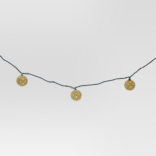Globe String Lights Outdoor Target : 10ct Indoor/Outdoor String Light- Plastic Globe Cover - Threshold : Target