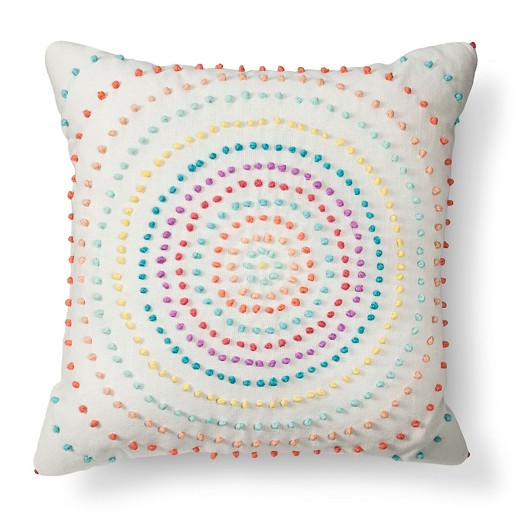 Target Clearance Throw Pillow : Texture Knot Circle Throw Pillow - Xhilaration : Target