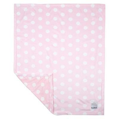 LOVE Silky Dot Blanket Giraffe - Pink