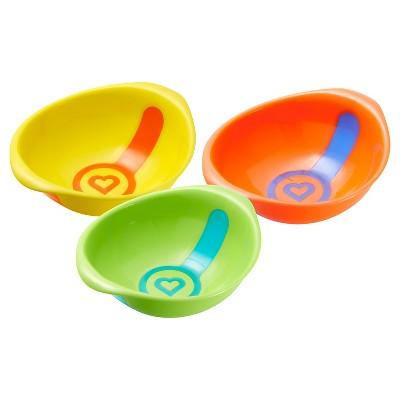 Munchkin White Hot® Toddler Bowls - 3 Pack