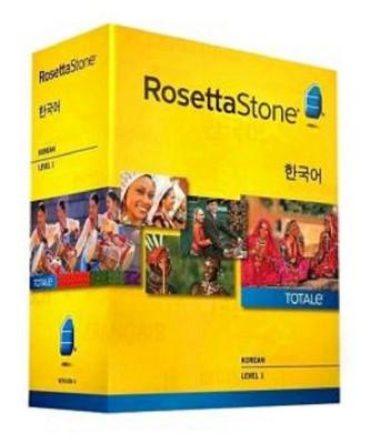 Rosetta Stone Korean Level 1