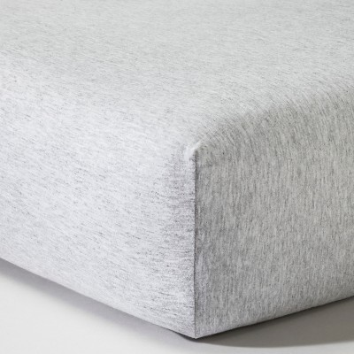 Circo™ Knit Fitted Crib Sheet - Heather Gray