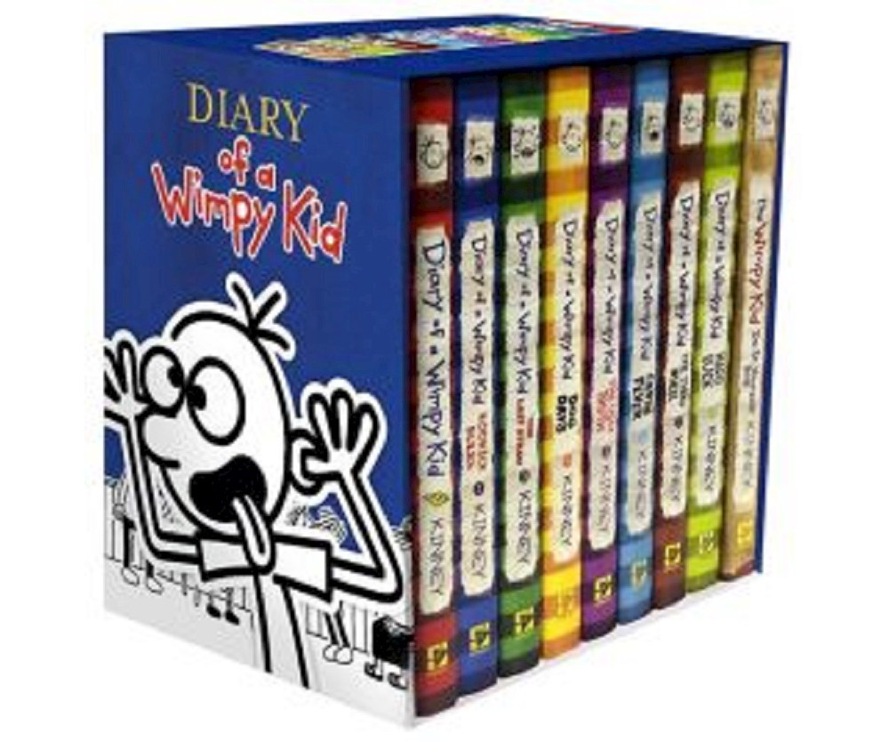 Diary of a Wimpy Kid Box of Books 1-8 & The Do-It-Yourself Book (Hardcover) (Jeff Kinney)