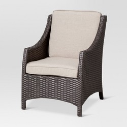 Belvedere Wicker Kids Patio Accent Chair - Tan - Threshold™