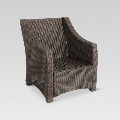 Belvedere Wicker Patio Club Chair   Frame Only   Threshold™