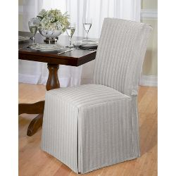 Chambray Dining Room Chair Slipcover Madison Industries
