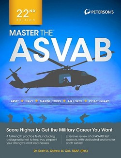 Master the ASVAB (Paperback) (Scott A. Ostrow)
