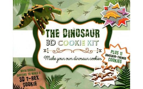 Dinosour 3d Cookie Kit (Paperback) - image 1 of 1