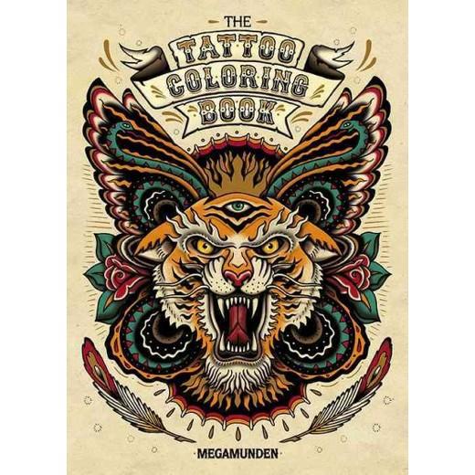 Tattoo Adult Coloring Book (Paperback) (Megamunden) : Target