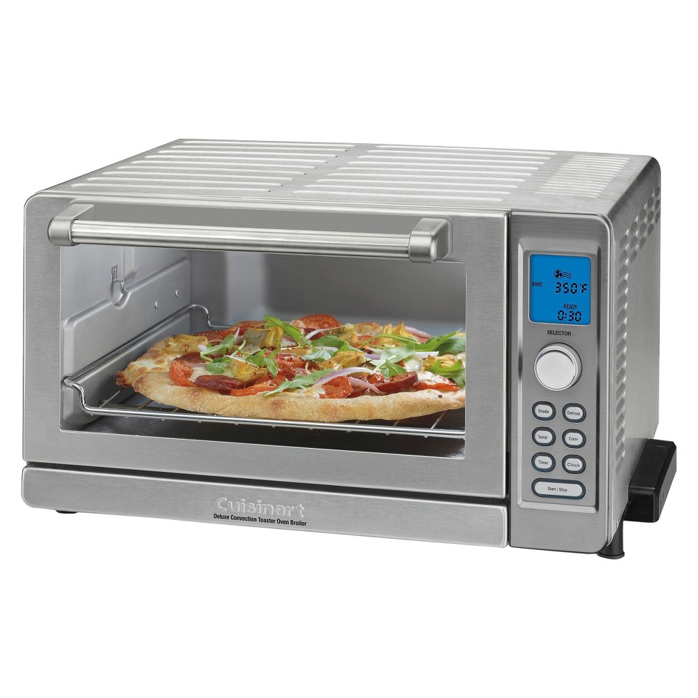 Cuisinart White Deluxe 9 in 1 Convection Toaster Oven