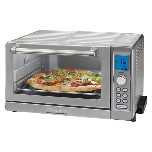 Cuisinart Deluxe Convection Toaster Oven Broiler Stainless Steel