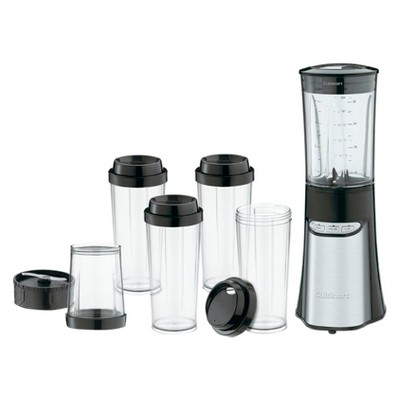 Cuisinart® SmartPower Compact Blender & Chopping System - Stainless Steel CPB-300