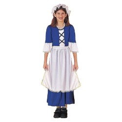 Girls' Little Colonial Miss Costume
