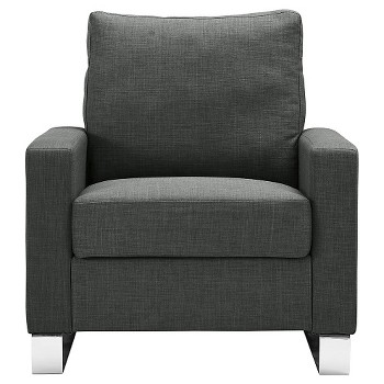Roscoe Upholstered Chair in Gray