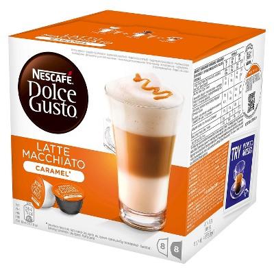 nescafe 174 dolce gusto caramel latte macchiato coffee capsules 8ct target