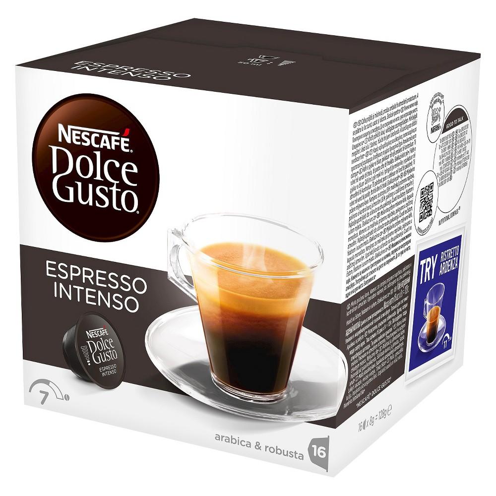 Nescafe Dolce Gusto Espresso Intenso - Coffee Capsules - 16ct