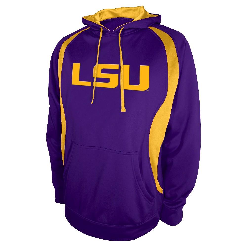 NCAA Lsu Tigers Men's Sweatshirt - Purple L