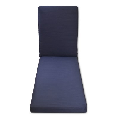 Heatherstone Outdoor Chaise Lounge Cushion - Navy - Threshold™