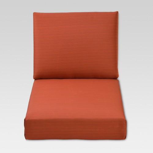 Heatherstone 2pc Cushion Set - Orange - Threshold