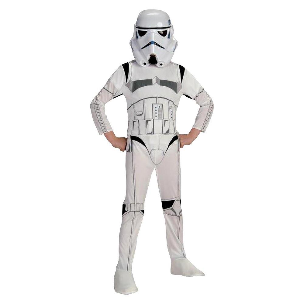 Star Wars Stormtrooper Kids Costume Large (12-14), Kids Unisex, Size: L (12-14), White