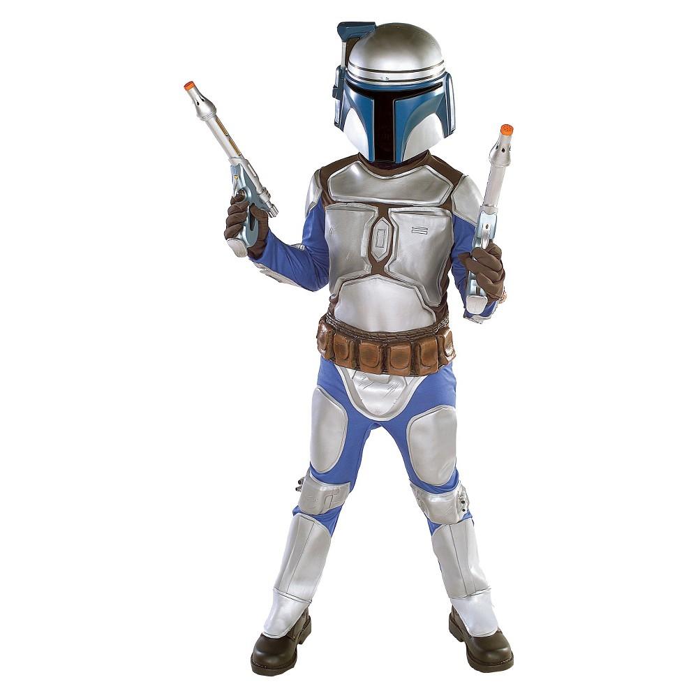 Star Wars Jango Fett Kids Costume Medium (8-10), Boys, Size: M(8-10), Multicolored