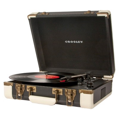 Crosley Executive Turntable - Black (CR6019A-BK)