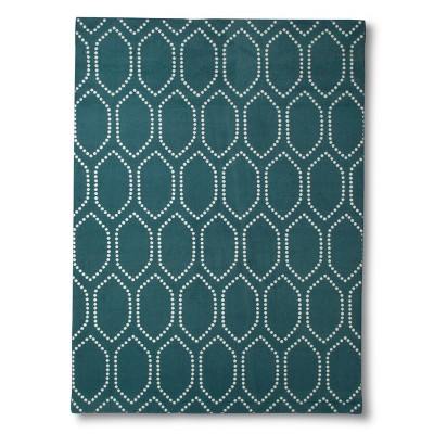 Threshold™ Dot Tile Area Rug - Teal (5'x7')