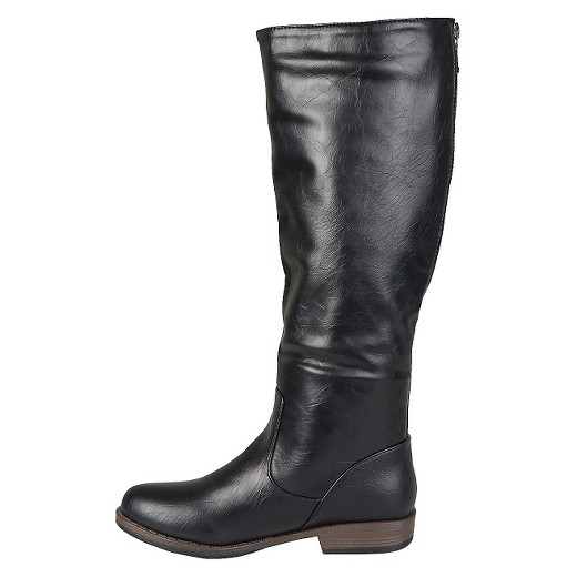 Women S Journee Collection Buckle Detail Fashion Boots