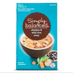 Chicken & Wild Rice Soup 17oz - Simply Balanced™