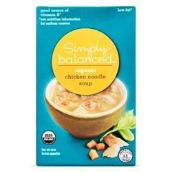 Organic Chicken Noodle 17oz - Simply Balanced™