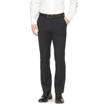 Merona Mens Striped Suit Pants