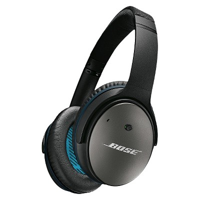 Bose® QuietComfort® 25 Acoustic Noise Cancelling® Wired Headphones (iOS)- Black