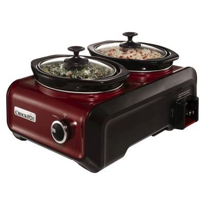 Crock-Pot® Hook Up Slow Cooker - Red (1 Qt)